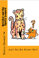 sheila graber illustrated book amazon Quizicat and teh Spotty Leopard amazon