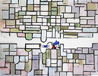 Mondrian Composition 1913