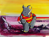 hand painted cels for sale sheila graber
